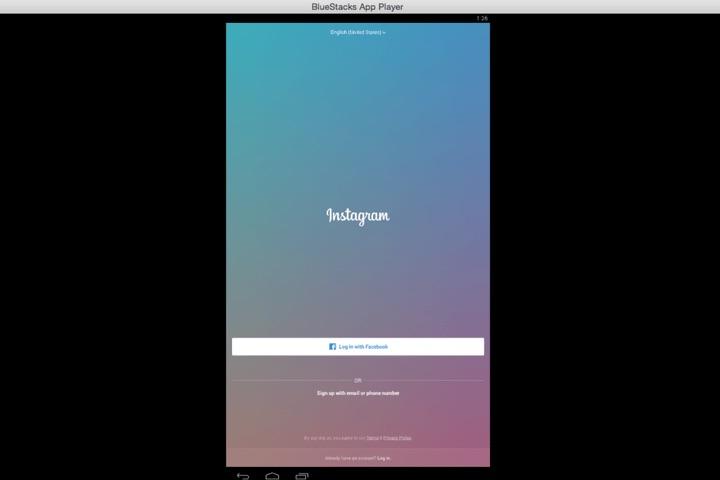 L'application Instagram fonctionne comme sur votre smartphone. Naviguez en utilisant votre souris plutôt que votre doigt