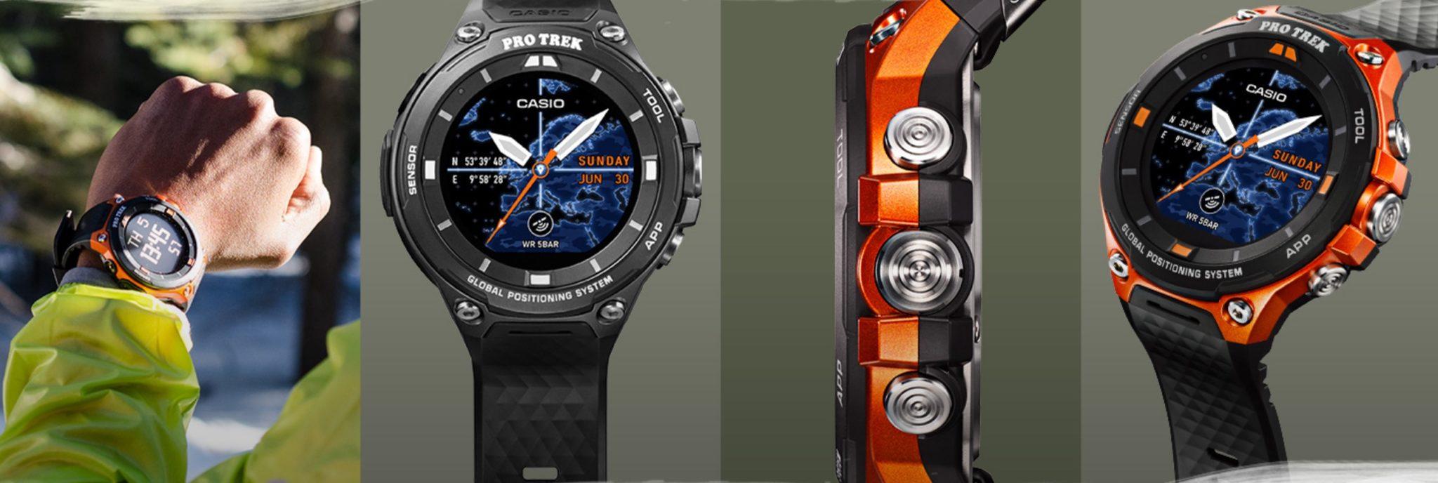 Casio dévoile la smartwatch GPS des aventuriers qui se