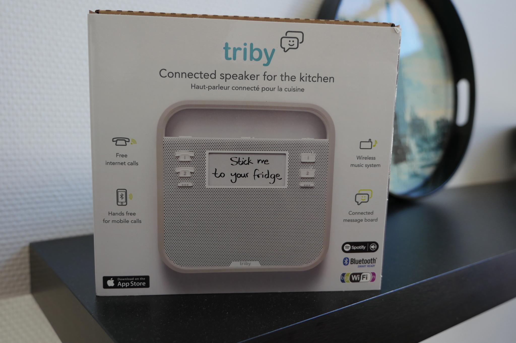 test du triby l 39 enceinte connect e parfaite pour votre. Black Bedroom Furniture Sets. Home Design Ideas