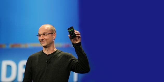 Le co-fondateur Android, Andy Rubin, lancerait un smartphone haut de gamme