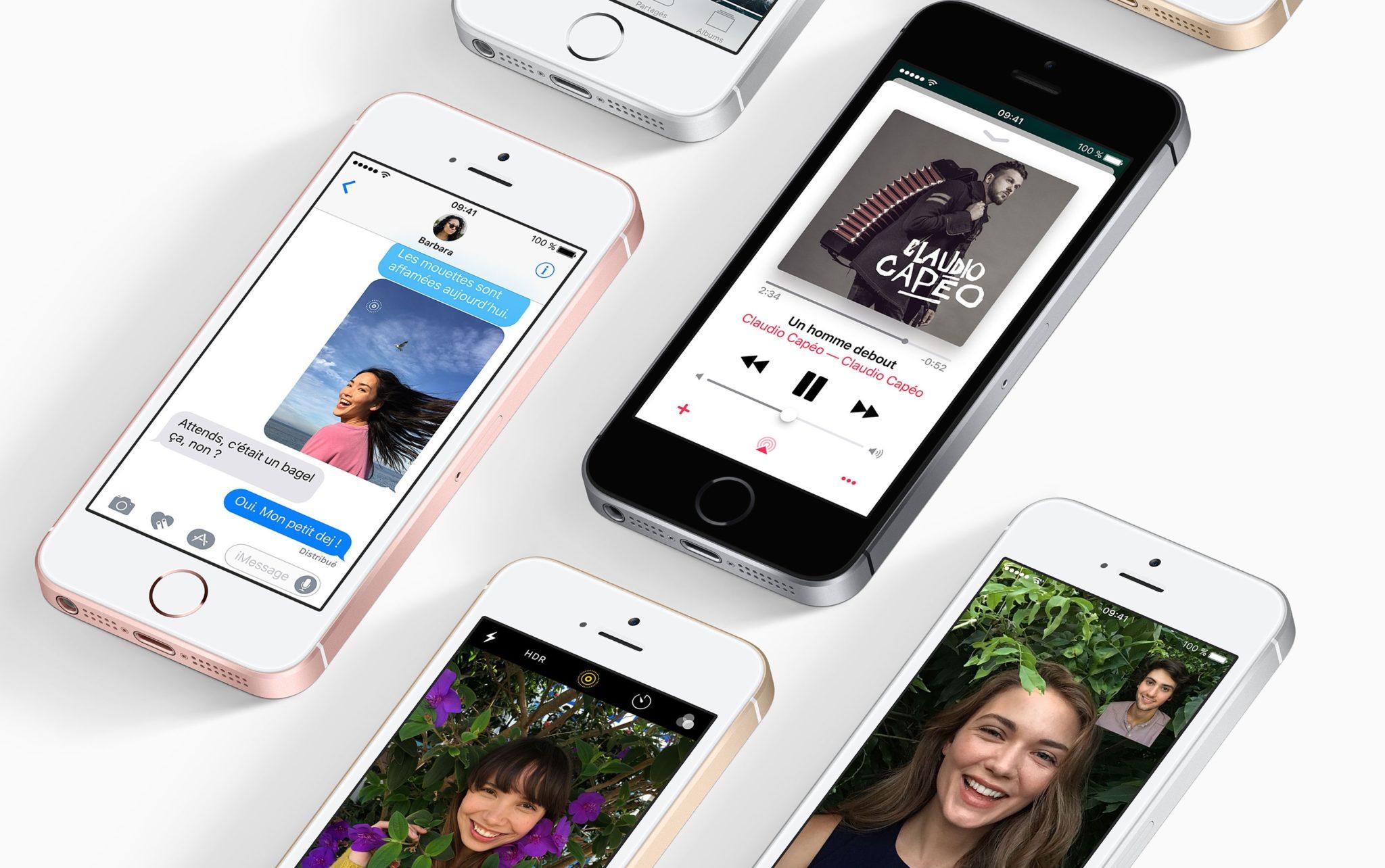 apple pourrait annoncer un nouvel iphone se avec 128 go de stockage ce mois ci. Black Bedroom Furniture Sets. Home Design Ideas