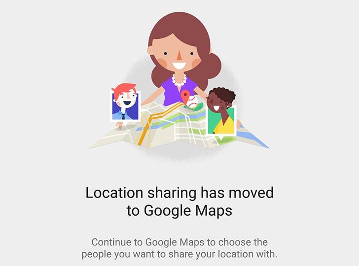 Google Maps peut indiquer à vos amis votre emplacement exact