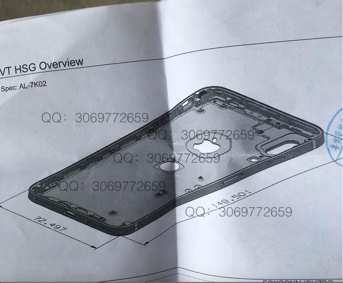Avec son iPhone 8, Apple pourrait aller à l'encontre de son esthétique minimaliste