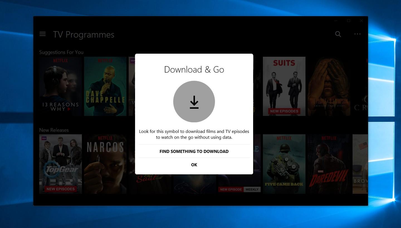 La lecture hors connexion débarque sur PC — Netflix