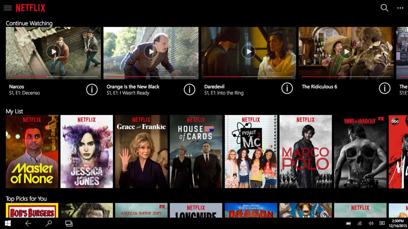 Le mode hors ligne débarque sur Windows 10 — Netflix