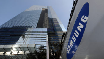 samsung building and sign