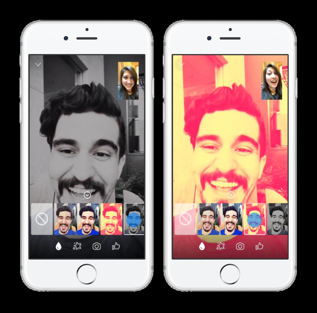 Messenger ajoute du fun pour les conversations vidéo