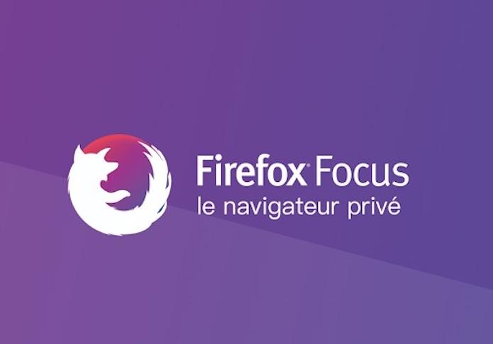 La navigation confidentielle automatique sur Android — Firefox Focus
