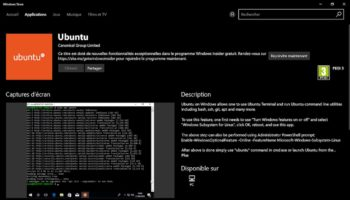 Ubuntu – Windows Store