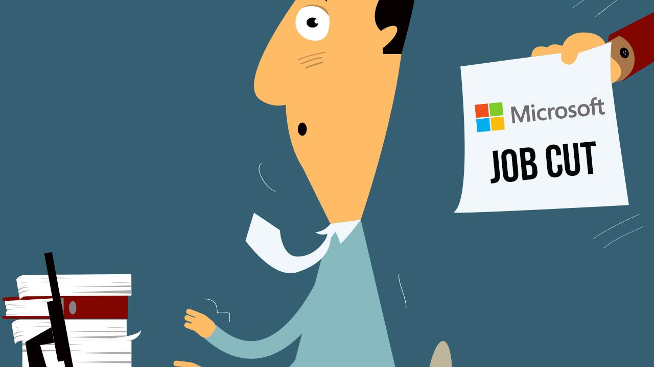 Vers une nouvelle suppression de milliers d'emplois — Microsoft
