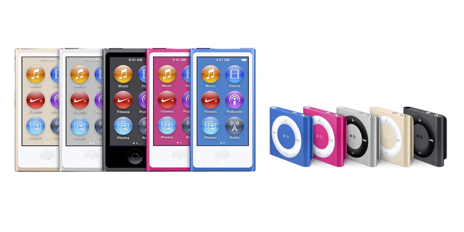 apple abandonne son ipod nano et shuffle baisse le prix de l 39 ipod touch. Black Bedroom Furniture Sets. Home Design Ideas