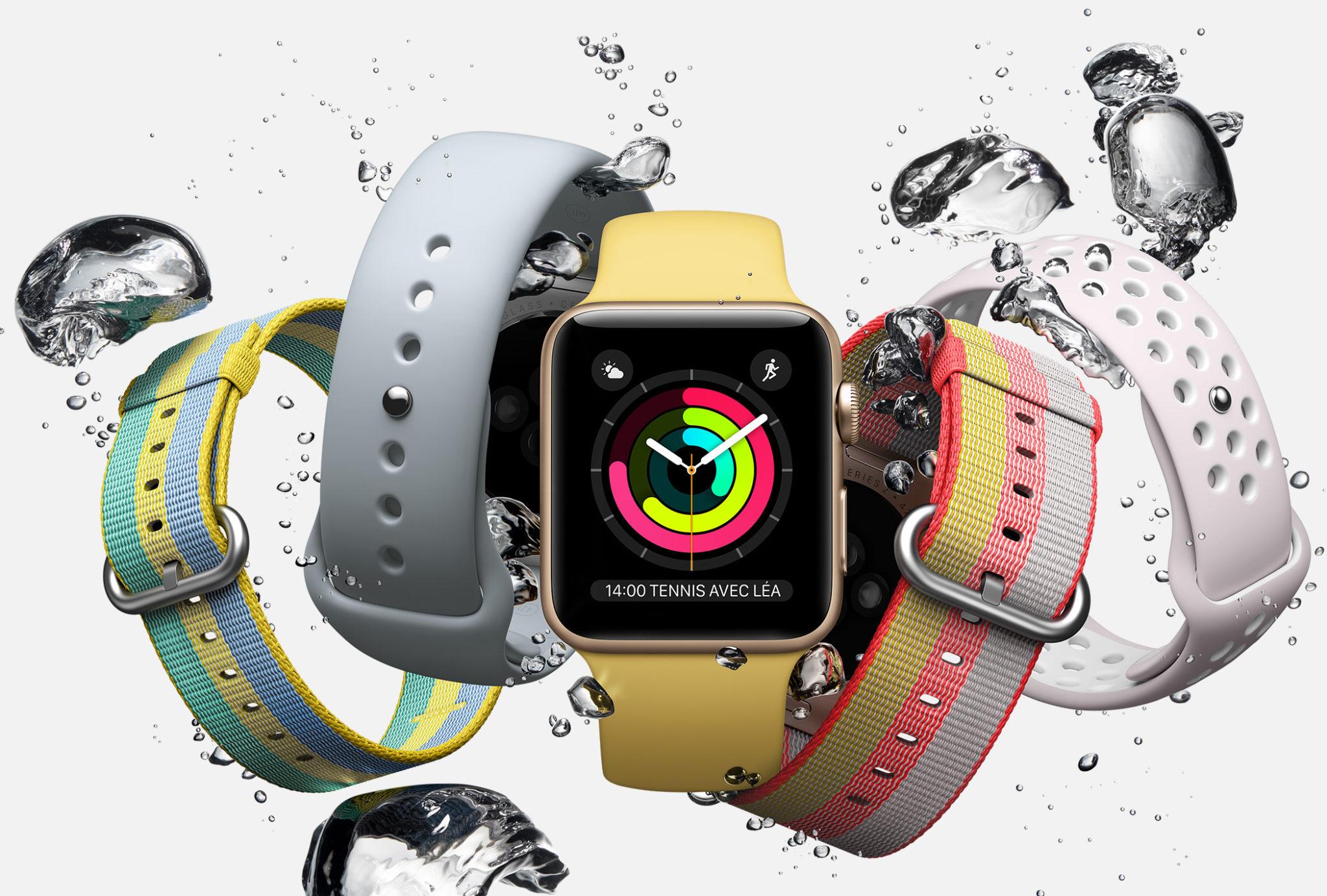 Une puce LTE pour l'Apple Watch 3 ?