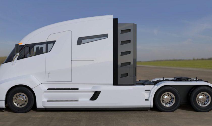 tesla travaille sur un camion semi lectrique autonome. Black Bedroom Furniture Sets. Home Design Ideas