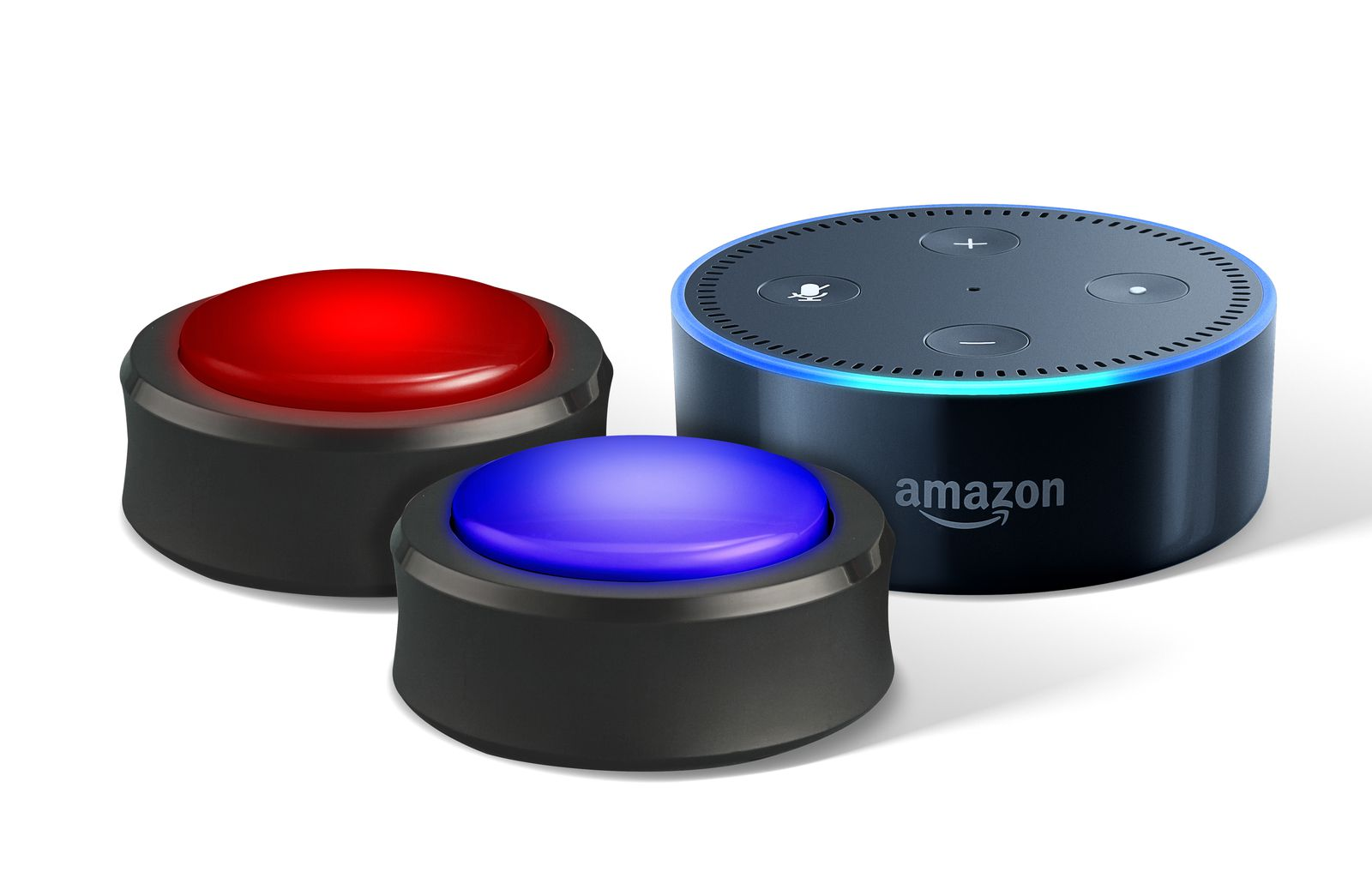 amazon echo button est un bouton connect pour les. Black Bedroom Furniture Sets. Home Design Ideas