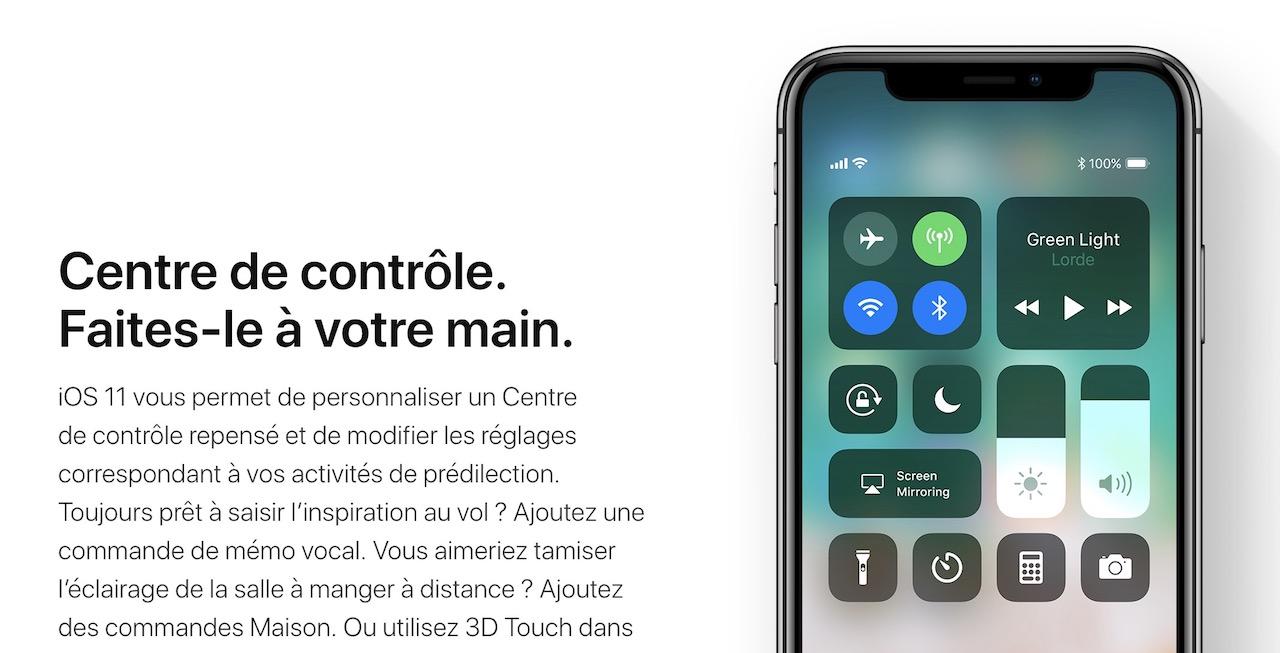 IOS 11 : comment couper totalement Bluetooth et Wi-Fi