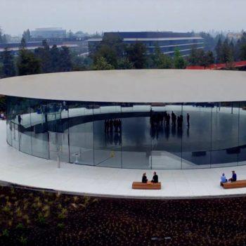 Apple Park – Steve Jobs Theater