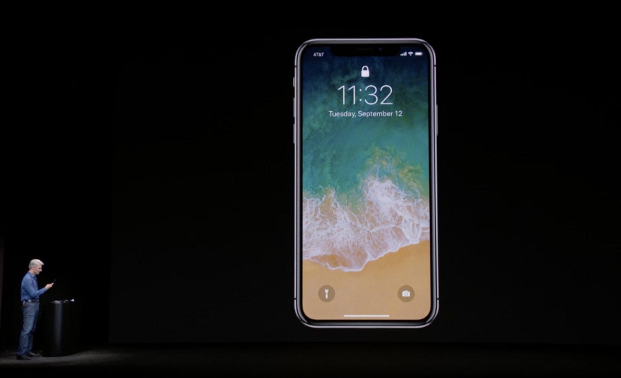 Craig Federighi a eu du mal à utiliser la technologie Face ID sur l'iPhone X