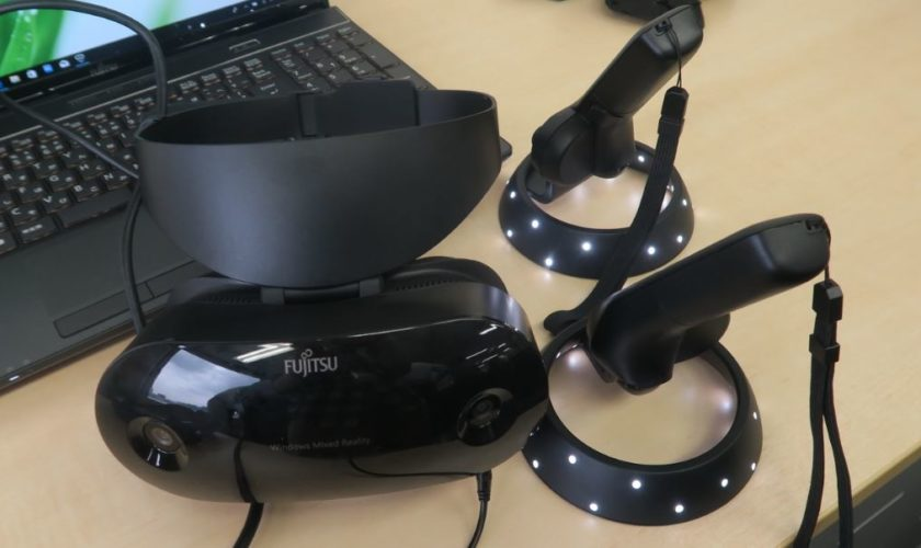 Fujitsu-Mixed-Reality-Headset