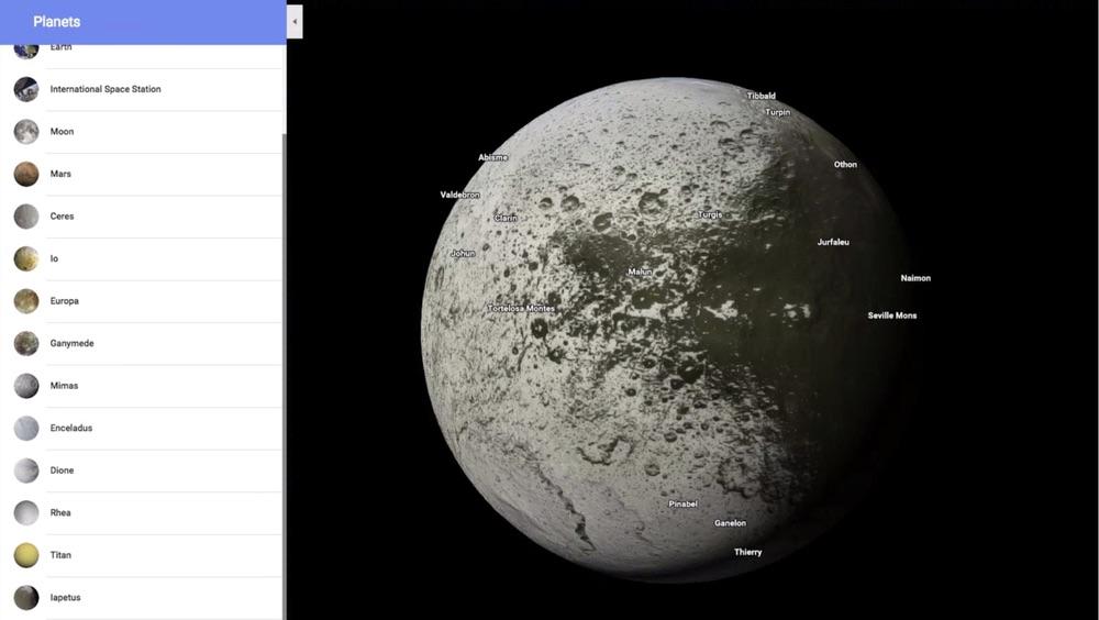Google Maps à la conquête de douze nouvelles planètes