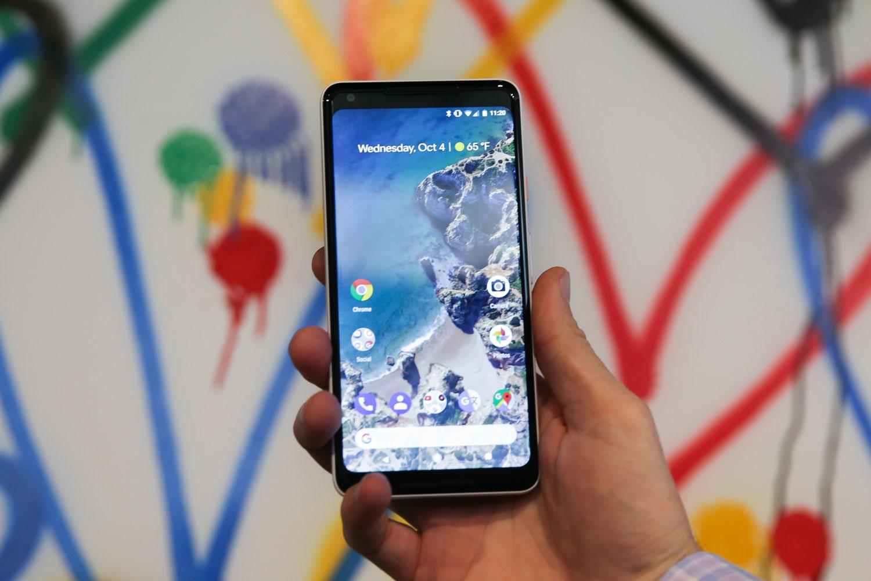 Problème d'écran pour le tout récent Pixel 2 XL de Google