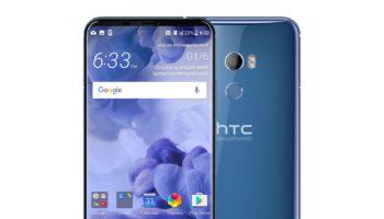 HTC U11 Plus : rendu