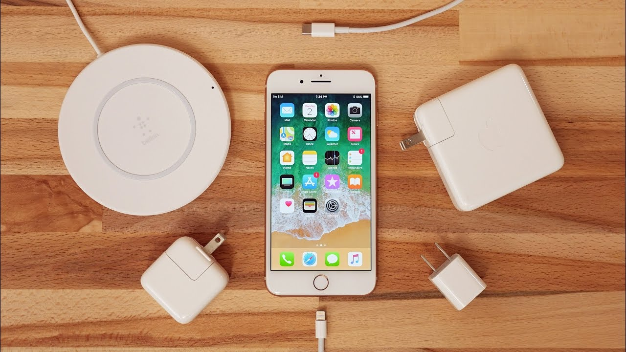 iphone 8 plus la charge rapide plus lente que la charge standard. Black Bedroom Furniture Sets. Home Design Ideas
