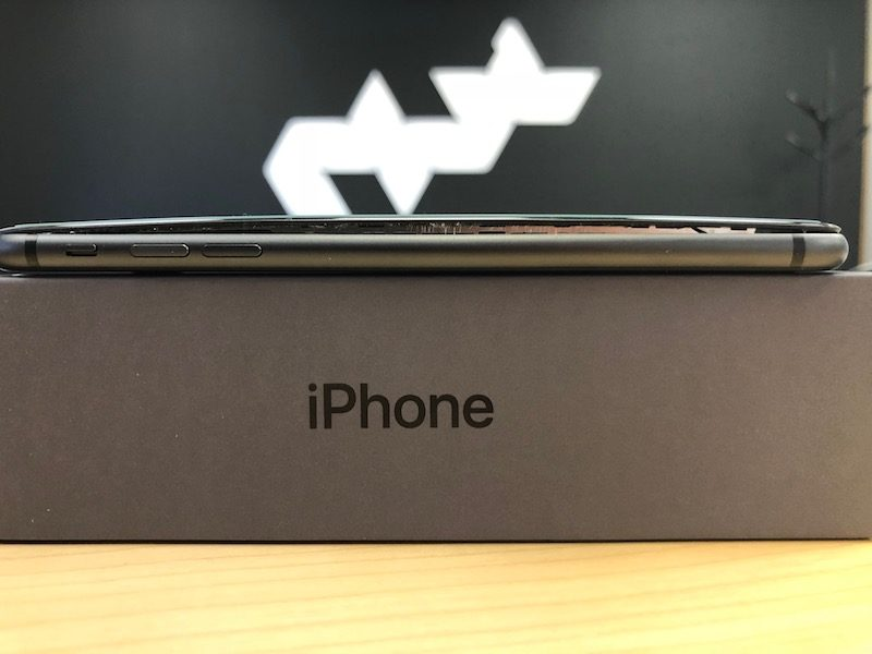 IPhone 8 Plus : Encore un nouveau cas de batterie qui gonfle ! [Photos]