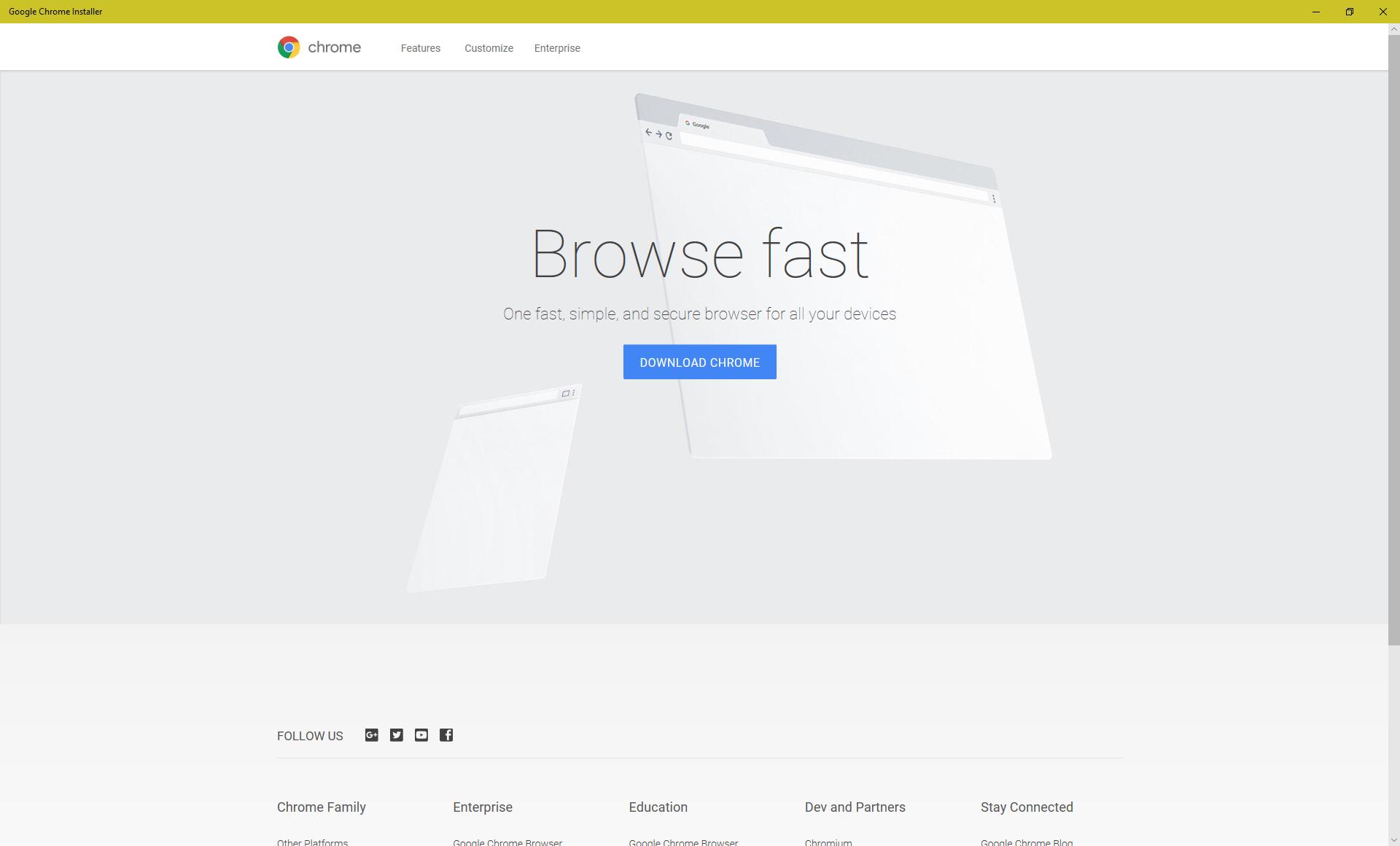Chrome arrive sur le Windows Store avant de logiquement disparaître