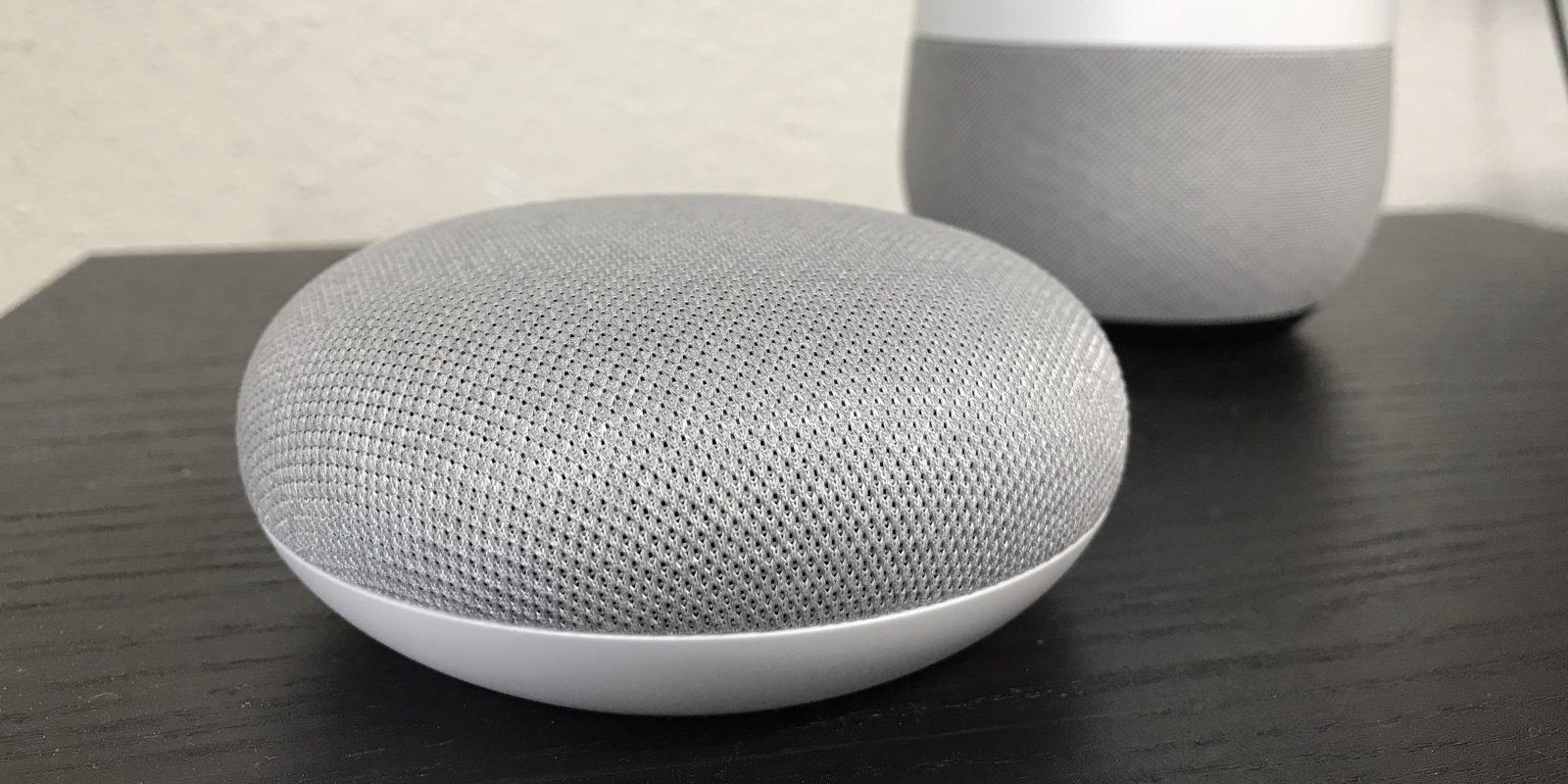 google home mini un correctif d ploy pour le nouveau bug du volume. Black Bedroom Furniture Sets. Home Design Ideas