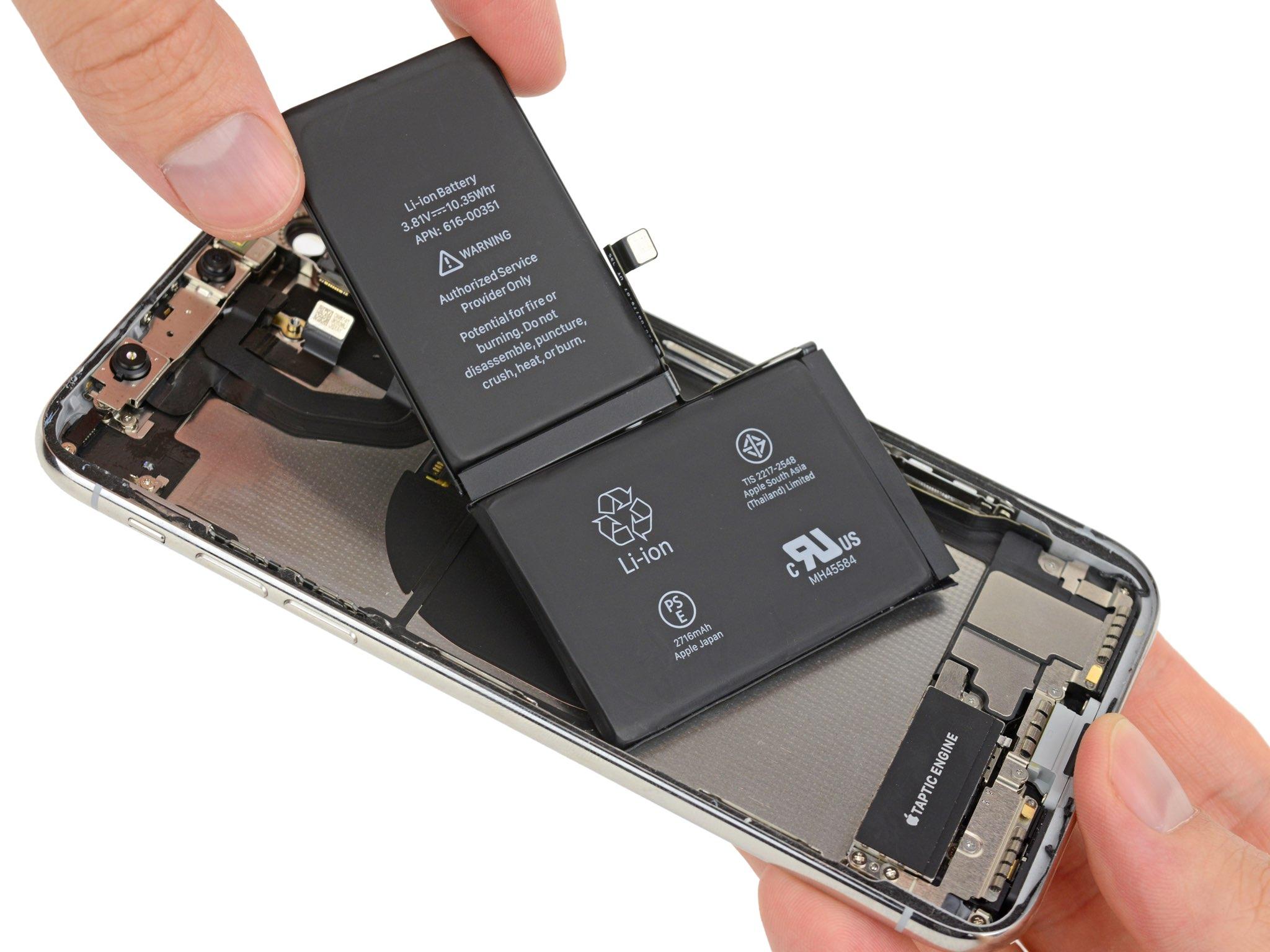 IPhone 2018 : l'arrivée d'une batterie en L plus performante ?