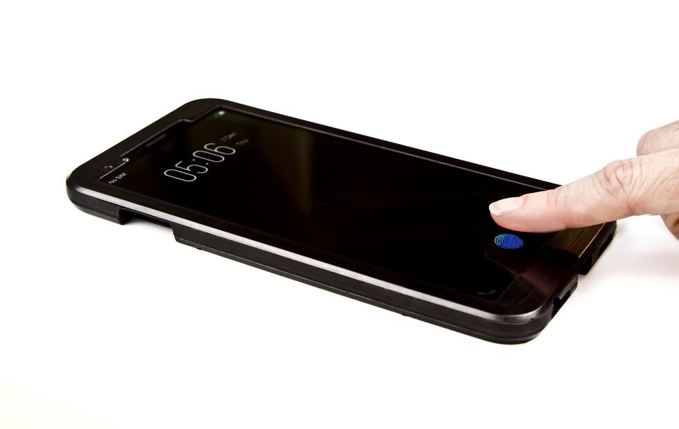 Synaptics dévoile son lecteur d'empreintes sous l'écran de smartphone