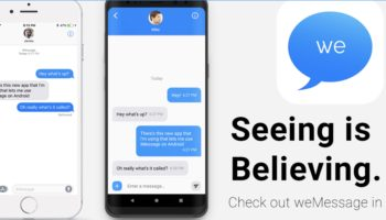 wemessage-imessage-pour-android