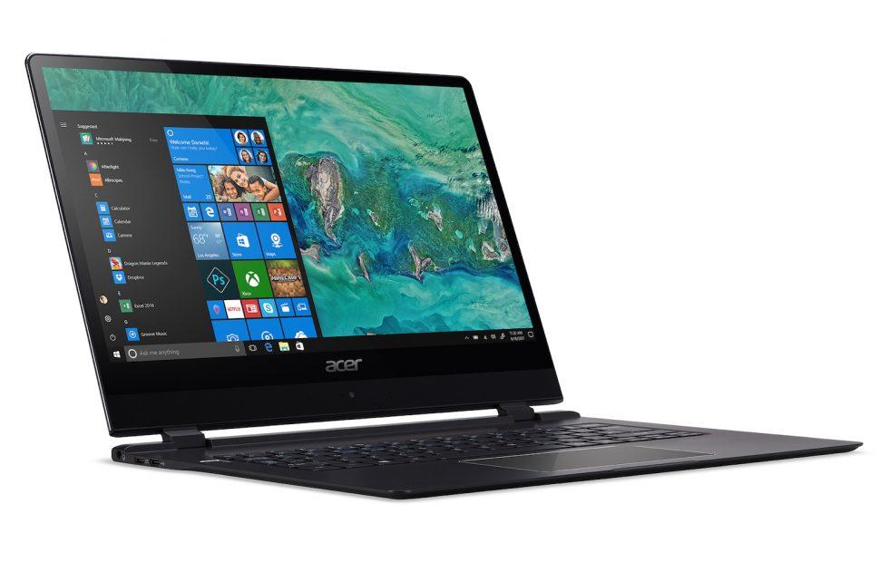 CES : Acer conserve la palme du laptop le plus fin du monde