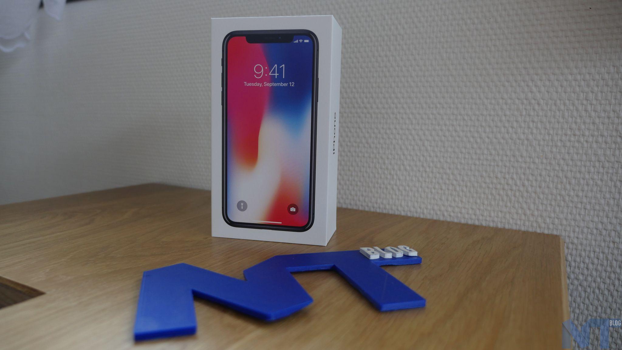 La production de l'iPhone X serait réduite de moitié — Talon d'Achille d'Apple