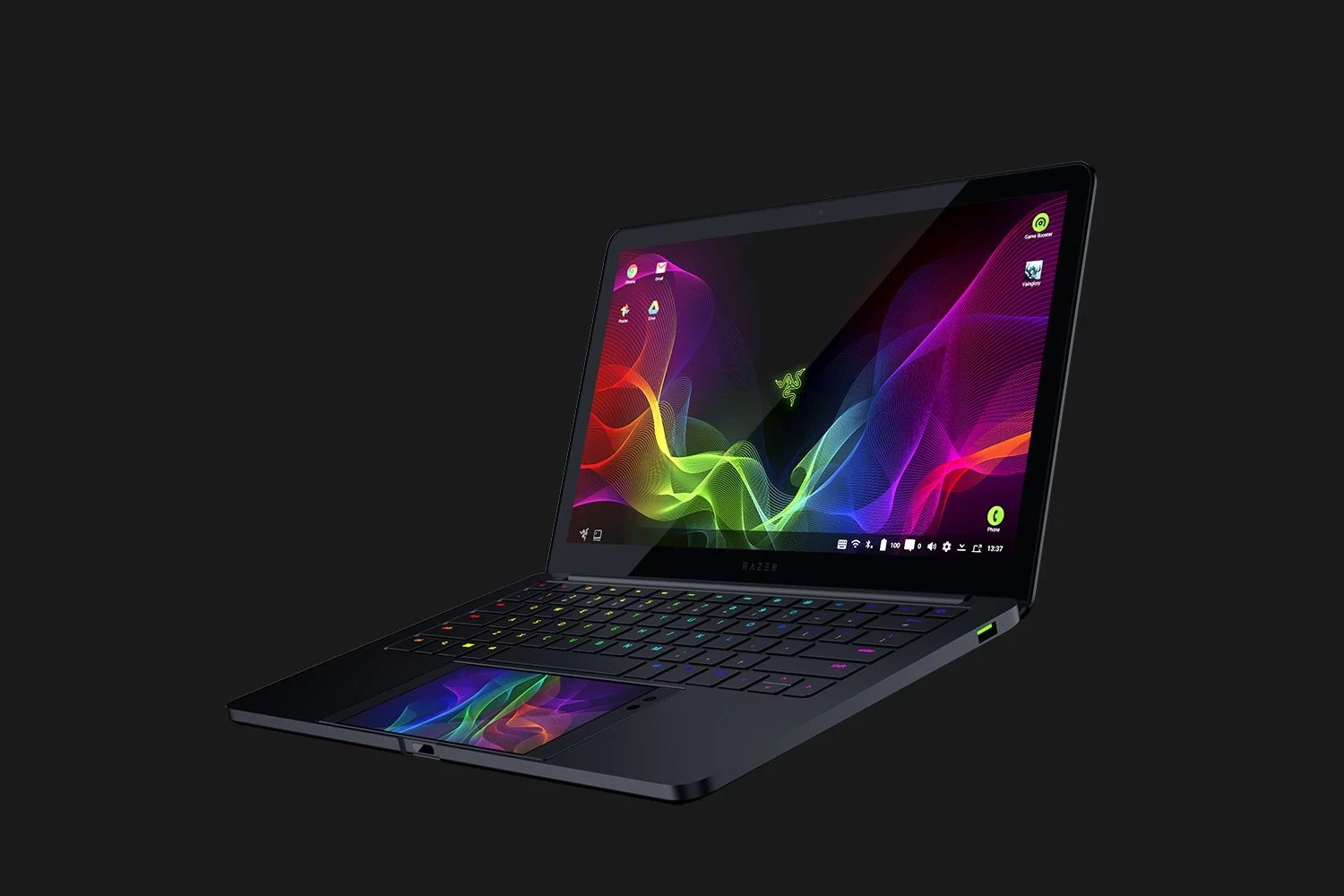 Un Chromebook de 13,3 pouces alimenté par le Razer Phone — Project Linda