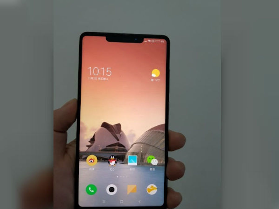 xiaomi pourrait annoncer le mi mix 2s au mwc 2018. Black Bedroom Furniture Sets. Home Design Ideas