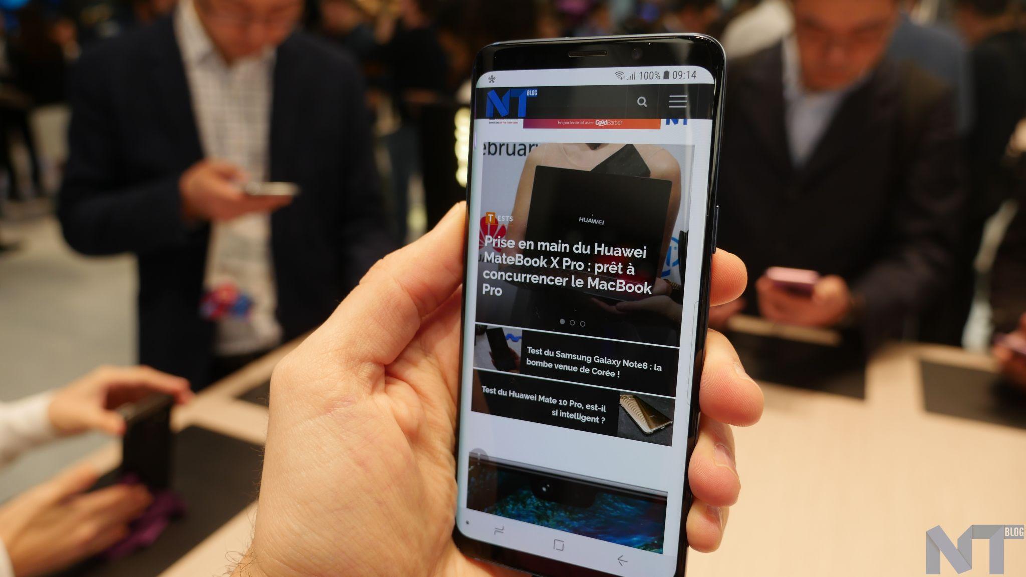 Le Galaxy S9 Plus prend la tête du classement DxOMark