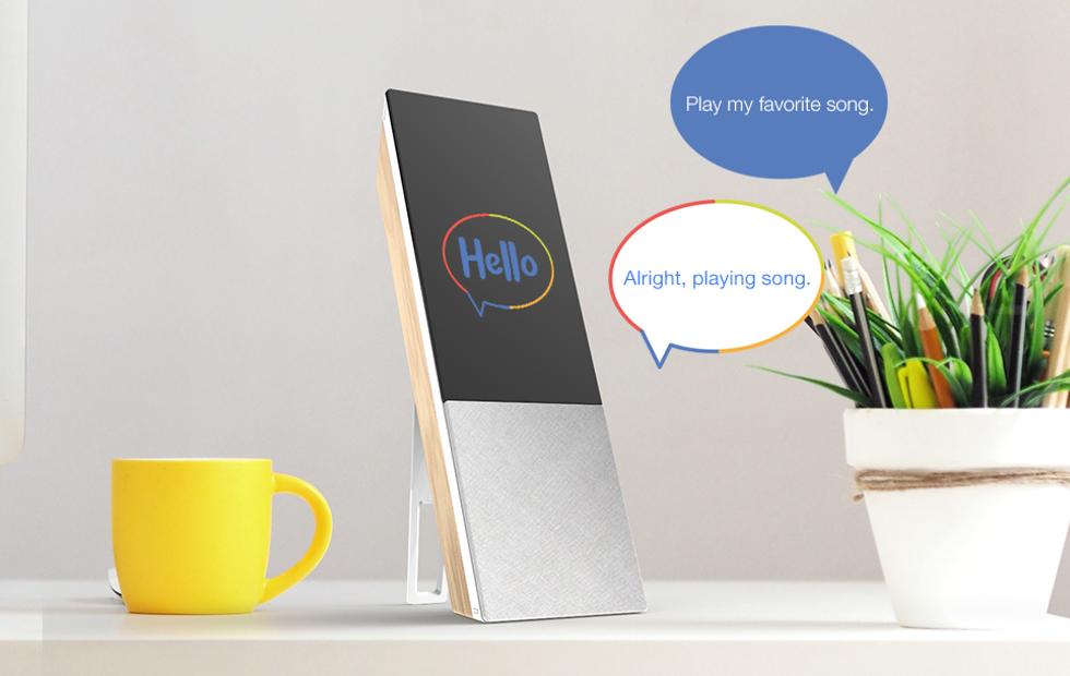 L'enceinte connectée pilotée à la voix sous Android Oreo — Archos Hello