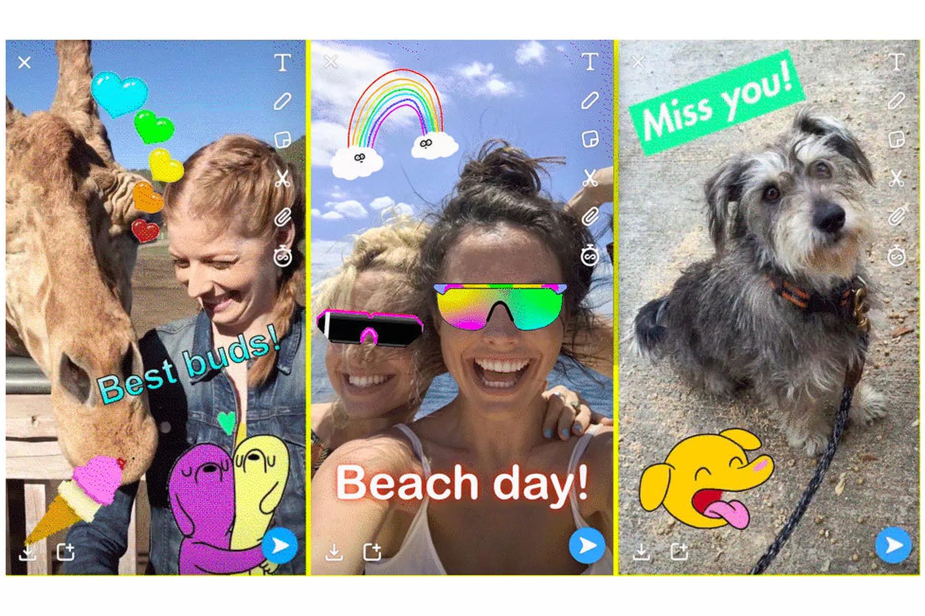 Snapchat répond à la pétition contre son nouveau design