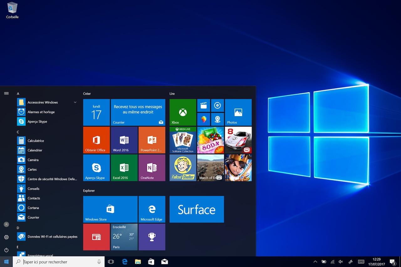 Windows 10 présenté deux fois plus sécurisé que Windows 7