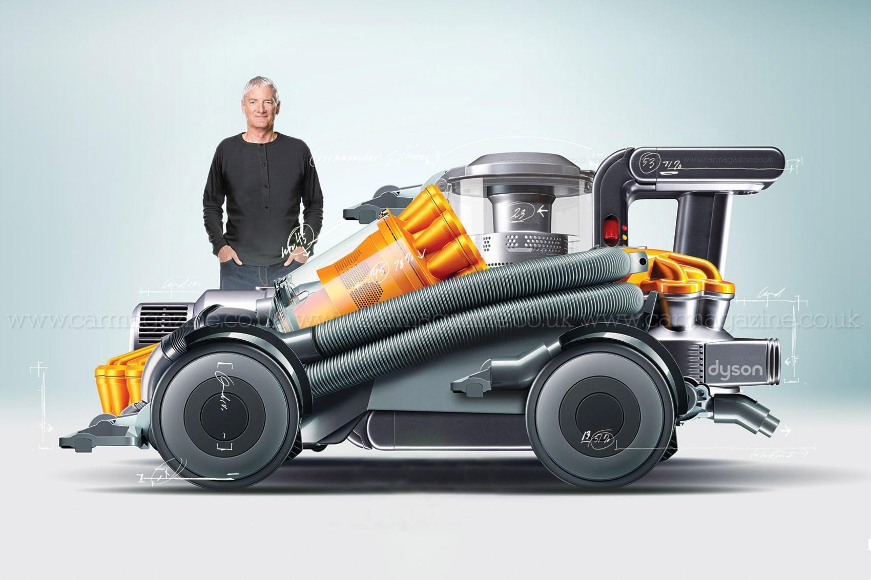 dyson annonce se lancer dans la voiture lectrique cr dible. Black Bedroom Furniture Sets. Home Design Ideas