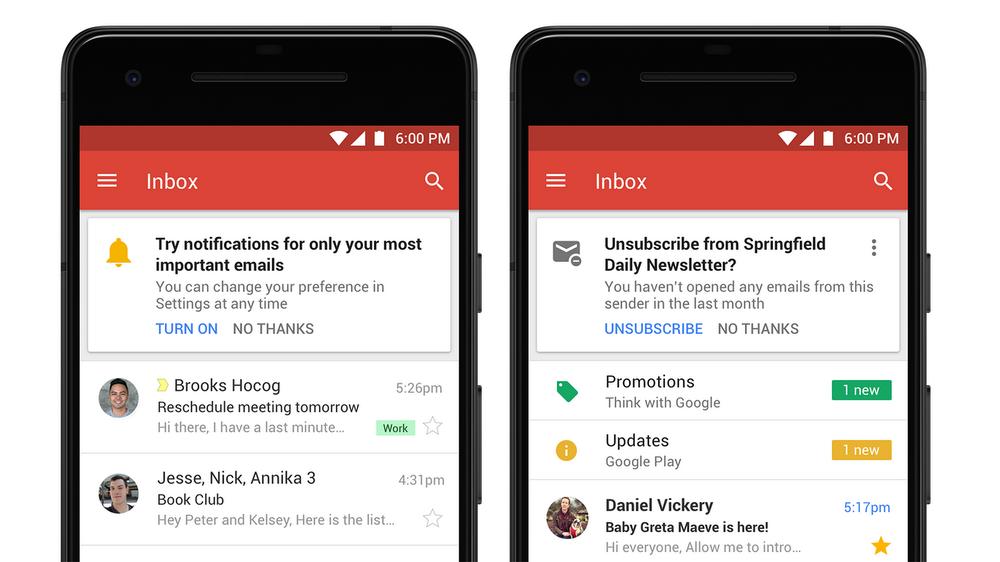 Comment activer la nouvelle interface de la boîte mail — Gmail