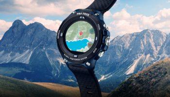Casio dévoile sa smartwatch pour les aventuriers sous  l4sHz