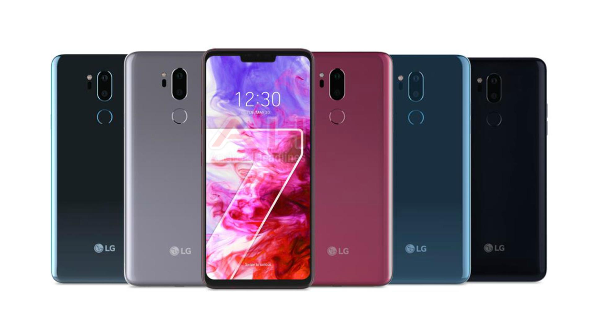 De nouveaux rendus du très attendu LG G7 en fuite