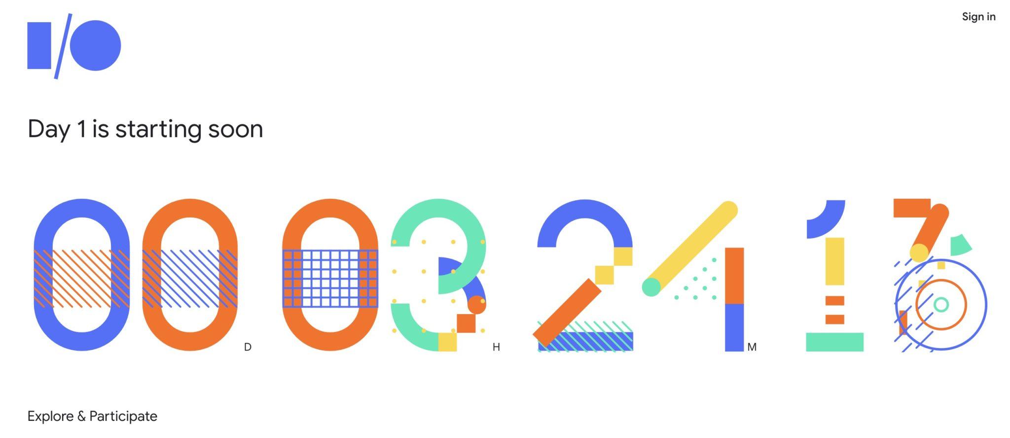 google io 2018 comment regarder la keynote en ligne. Black Bedroom Furniture Sets. Home Design Ideas