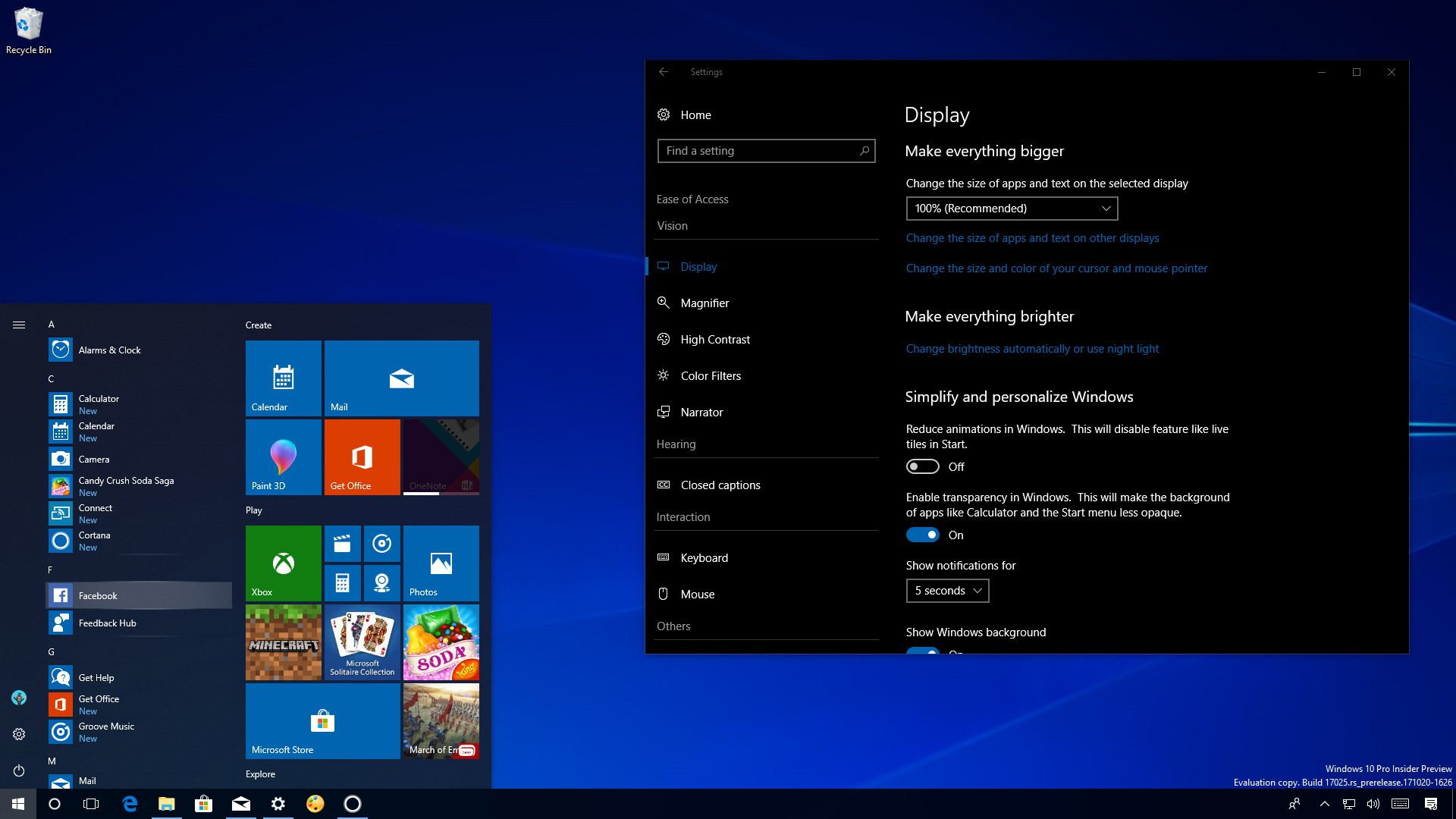 Supprimer Version Build Windows