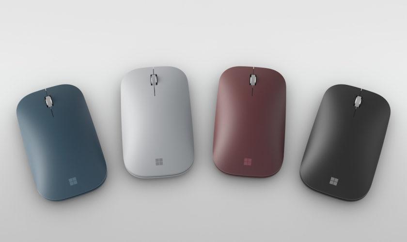 Voici la nouvelle Surface Mobile Mouse de Microsoft pour la Surface Go