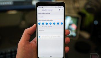 google-home-schedule-routines