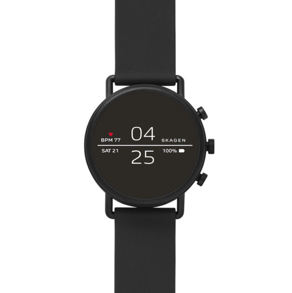 atFoliX Filtre de confidentialité Compatible avec Skagen Falster Film de Protection confidentiel, Vie privée à 4 Voies FX Protection confidentiel