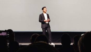 Pete-Lau-on-stage-at-the-OnePlus-6T-launch